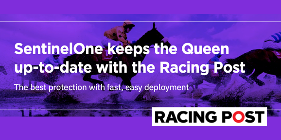 SentinelOne Case Study Racing Post